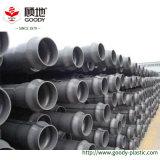 Tubo de la transmisión del abastecimiento de agua del extremo PVC-U de Streight