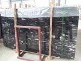 建設プロジェクトのためのDargonの銀製の黒く白い静脈の大理石のカウンタートップか平板またはタイル