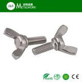 Boulon de pouce d'aile de guindineau d'acier inoxydable de SS304 SS316 (DIN316)