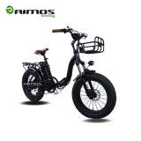 350W AMS-Tdn-01 20 pouces pliant la bicyclette électrique de gros pneu