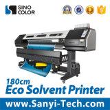 Impresora solvente de Eco para la bandera, acoplamiento