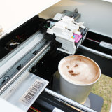 Latte Art Selfie кофе машины с помощью принтера пищевые чернила