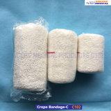 100%年の綿の医学の伸縮性があるクレープの包帯(C102)