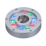 스테인리스 RGB IP68 LED 수중 샘 빛