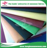 Spun-Bonded 100% PP colorido Nonwoven Fabric Proveedor