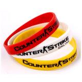 Изготовленный на заказ Wristband полиэфира сублимации для промотирования (XD-WB-02)