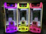 Bester Spielzeug-Fangfederblech-Maschinen-Hersteller in China-Münzenspielzeug-Kran-Maschine für Verkauf