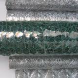 Em Malha de Arame Hexagonal com revestimento de PVC