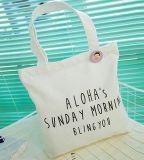 ショッピングのための2018の女性の人のハンドバッグの戦闘状況表示板のキャンバスか綿袋