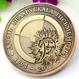 Nach Maß Andenken-Gedenkdekoration-Sicherheits-Metallkanadisches Ahornblatt-Replik-Gold 2 Euromünzen