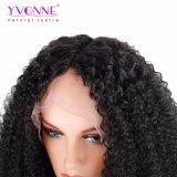 Enroulement crépu d'Afro de perruque de cheveu de Remy d'être humain de Yvonne 100%