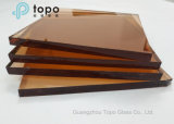 Tinted Special Pink Float Building Glass in Topo Glass Fabricant (CP)