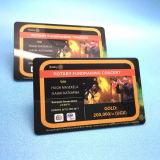 ISO14443A 13.56MHz MIFARE DESFire EV2 4KプラスチックRFIDの忠誠のカード