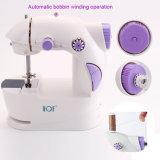 Mini máquina de costura elétrica do alfaiate portátil do vestuário de matéria têxtil para o agregado familiar