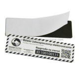 etiquetas engomadas impresas de 13.56MHz Ntag216 (213, 215) RFID NFC
