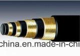 Boyau hydraulique spiralé de fil (902-4S)