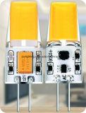 lampadina chiara del silicone G4 LED 2.5W 320lm G4 di tensione 12V