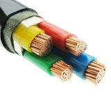0.6/1kv 3*185mm2+1*95mm2 Funda de PVC aislamiento XLPE de cobre del cable de alimentación eléctrica