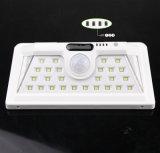 34 indicatore luminoso impermeabile del giardino del sensore di movimento del LED PIR del percorso esterno solare della lampada da parete