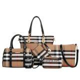 Borsa di cuoio stabilita dei sacchetti delle signore 6pieces di vendita del Amazon del sacchetto caldo delle donne