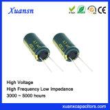 De elektrische Elektrolytische 400V Hoge Frequentie 4.7UF van de Condensator