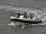 Bateau de touristes gonflable de coque de Liya de bateaux gonflables rigides de côte
