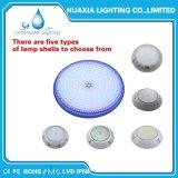 Indicatore luminoso subacqueo di RGB/White della resina LED della lampada impermeabile della piscina