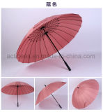 مسيكة صامد للريح سيّارة مفتوحة جديد عادة علامة تجاريّة يطبع [24ك] مستقيمة مظلة صاحب مصنع