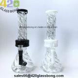 """13.2 """" unbesonnene GlasWaterpipe 420 Rauch-Becher-Matrix-Glasrohr für Tabak-Großverkauf"""