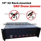 3u Rack-Mounted Uav aviones teledirigidos Jammer/ Jammer señal de seguridad