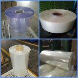 Film chaud d'emballage rétrécissable de PVC de bleu