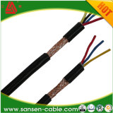 Kern 2 schirmte abgeschirmten elektrischen abgeschirmten Draht des twisted- pairkabel-300 Rvvp flexiblen des Kabel-300V ab