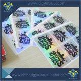 Ologramma su ordinazione del materiale del Rainbow di stampa del Silkscreen