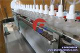 Máquina que capsula del embotellado del tinte