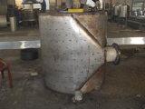 Acero inoxidable tipo desmontable de la placa de la espiral del intercambiador de calor