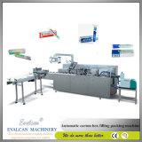 歯磨き粉のための自動カートンのパッキング機械