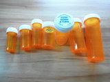 丸薬Pharmacialのガラスびんのための医学のプラスチック可逆帽子のびん