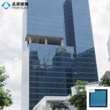 Fournisseur de Xiamen Reflective trempé pour la construction de la façade de verre isolé
