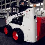 중국 작은 로더 500kg 700kg 850kg 소형 미끄럼 수송아지 로더