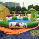 Piscina gonfiabile per il parco di divertimenti dell'acqua