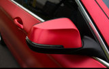 Etiqueta engomada entera roja de la carrocería de coche del PVC del brillo