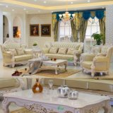 Silla de cuero del sofá para los muebles de la sala de estar (518C)