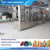 Tipo máquina do vapor de etiquetas do Shrink do PVC