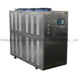 Refrigeratore industriale raffreddato ad acqua per industria di plastica e di gomma