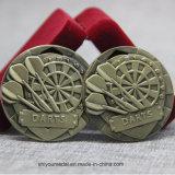 kundenspezifische 3D Tischtennis-Kupfer-Medaille