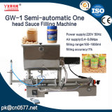 Uma máquina de enchimento principal semiautomática para o molho do tomate (GW-1)