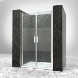 アルミニウムプロフィールはガラス調節のシャワーのドアを強くした