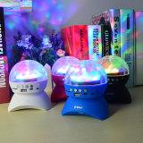 ディスコの段階党LEDデジタル魔法の球ライトBluetoothの水晶極度のスピーカー