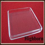 Perforando e scanalando lo strato termico trasparente di vetro di quarzo fuso