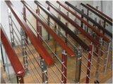 Escalier en verre balustrade des matériaux de construction du projet, Jbd-8012